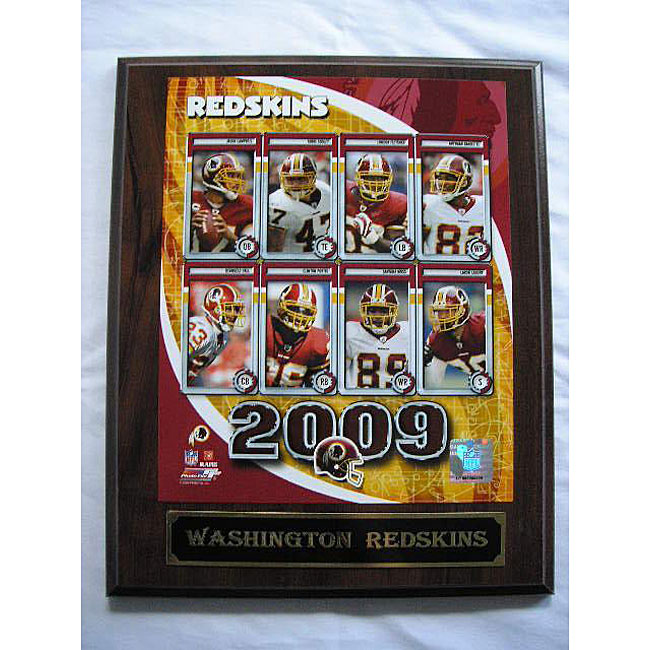 Washington Redskins Team Picture Plaque