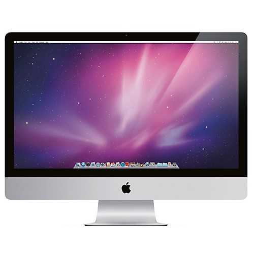 Apple iMac 27' Core i5-760 Quad-Core 2.8GHz All-in-One Computer - 4GB 1TB DVD-RW Radeon HD 5750/Cam/OSX(2010)Refurbished