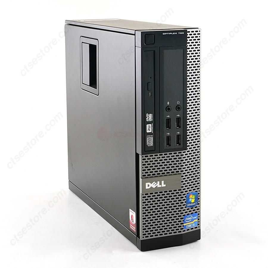 Refurbished: Dell OptiPlex 790 SFF Desktop Computer - Intel Core i5 Processor, 4GB RAM, 500GB HDD, DVD-Writer DVDRW, Windows 7 Professional 64-bit