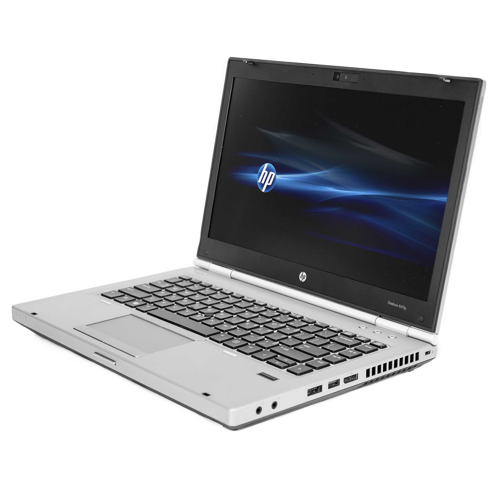Refurbished HP 14' EliteBook 8470P Laptop PC with Intel Core i5-3320M Processor, 8GB Memory, 256GB SSD and Windows 10 Pro