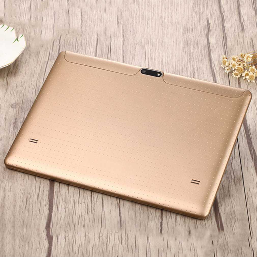 Hot Sale 10.1 inch 3G SIM Card Business Student 16GB Quad-Core Tablet PC for Gift, Gold
